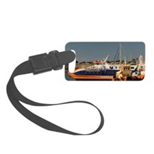 Reflections of Tugboats Luggage Tag