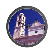 Greece. Western Crete. The Cathedral Ch Wall Clock