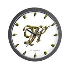 Phyllis Initial H Wall Clock