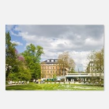 Palm garden cafe Frankfur Postcards (Package of 8)