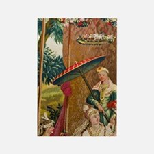 Residenzmuseum, Chinese tapestry  Rectangle Magnet