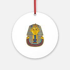 Tutankhamen Ornament (Round)