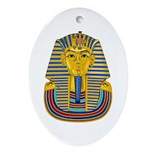 Tutankhamen Oval Ornament