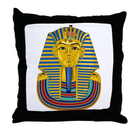 Tutankhamen Throw Pillow