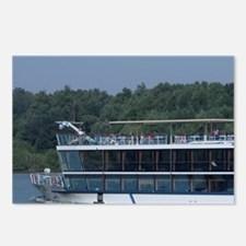 Hungary. Danube River vie Postcards (Package of 8)
