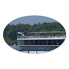 Hungary. Danube River view. Passeng Decal