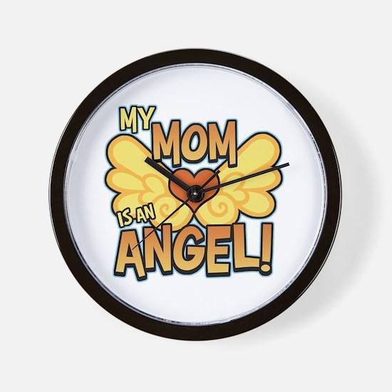 My Mom Angel Wall Clock