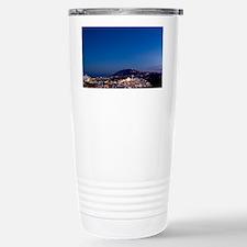 Aerial View of Beautiful Fira S Travel Mug