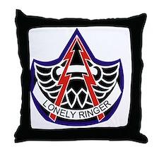 224 Aviation Bn Throw Pillow