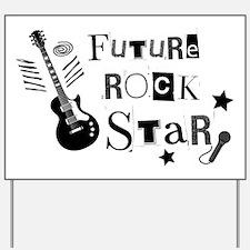 rockstar Yard Sign