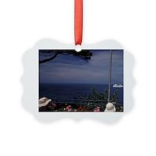 Europe, Italy, Sorrento. Clifftop Ornament