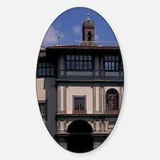 Uffizi Gallery on the Arnouscany, U Decal