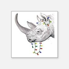"rhinolights Square Sticker 3"" x 3"""