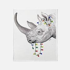 rhinolights Throw Blanket