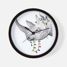 rhinolights Wall Clock