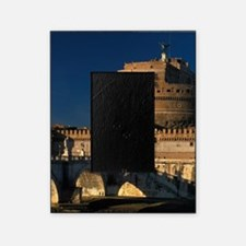 Italy, Rome, Castel Sant'Angelo and  Picture Frame