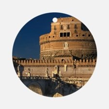 Italy, Rome, Castel Sant'Angelo and Round Ornament