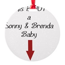 not SnB baby Ornament