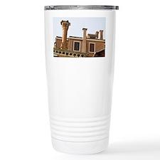 Chimneys and windows of a color Travel Mug