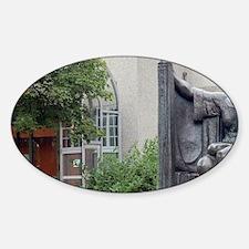 Sculpture garden behind Einar Jonss Decal