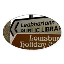 Louisburgh. English and Gaelic dire Decal