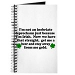 Inebriate Leprechaun Irish Journal