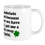 Inebriate Leprechaun Irish Mug