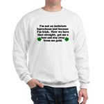 Inebriate Leprechaun Irish Sweatshirt