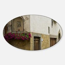 Tuscany. Picturesque lane in villag Decal