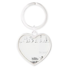 Castle_BrooklynBridge_dark Heart Keychain
