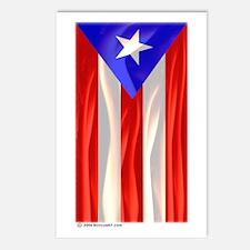 Bandera de Puerto Rico Postcards (Package of 8)