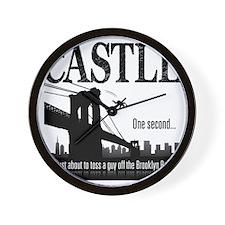 Castle_BrooklynBridge_lite Wall Clock