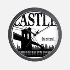 Castle_BrooklynBridge_lite Wall Clock