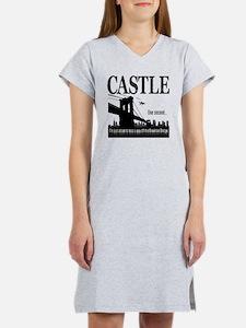 Castle_BrooklynBridge_lite Women's Nightshirt