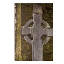 High Cross Headstone in a Postcards (Package of 8)