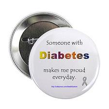 Diabetes Pride Button