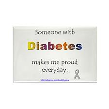 Diabetes Pride Rectangle Magnet
