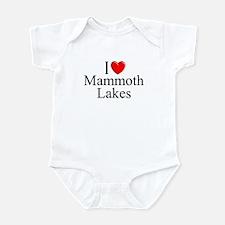 """I Love Mammoth Lakes"" Infant Bodysuit"