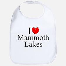 """I Love Mammoth Lakes"" Bib"