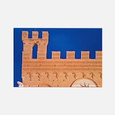 Palazzo Pubblico (City Hall) Deta Rectangle Magnet