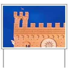 Palazzo Pubblico (City Hall) Detailzzo P Yard Sign
