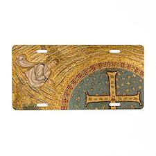 Ravenna. Mosaics adorning t Aluminum License Plate