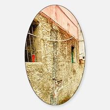Cinque Terre. Traditional wine pres Decal