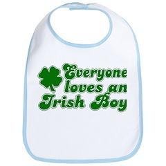 Everyone Loves an Irish Boy Bib