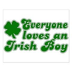 Everyone Loves an Irish Boy Posters