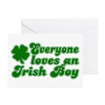 Everyone Loves an Irish Boy Greeting Cards (Packag