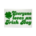 Everyone Loves an Irish Boy Rectangle Magnet