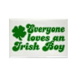 Everyone Loves an Irish Boy Rectangle Magnet (10 p