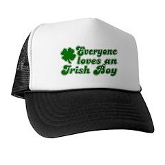 Everyone Loves an Irish Boy Trucker Hat