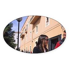 Italy, Cagliari. University student Decal